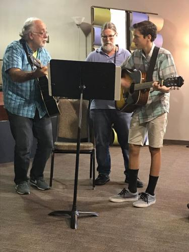 David, Rick and Josh Jamming